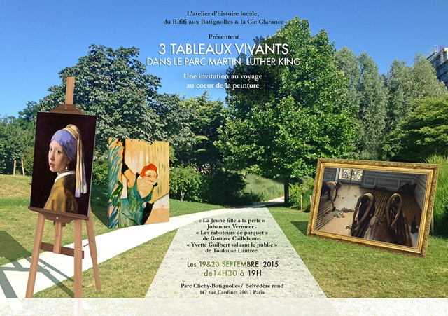 3 tableaux vivants