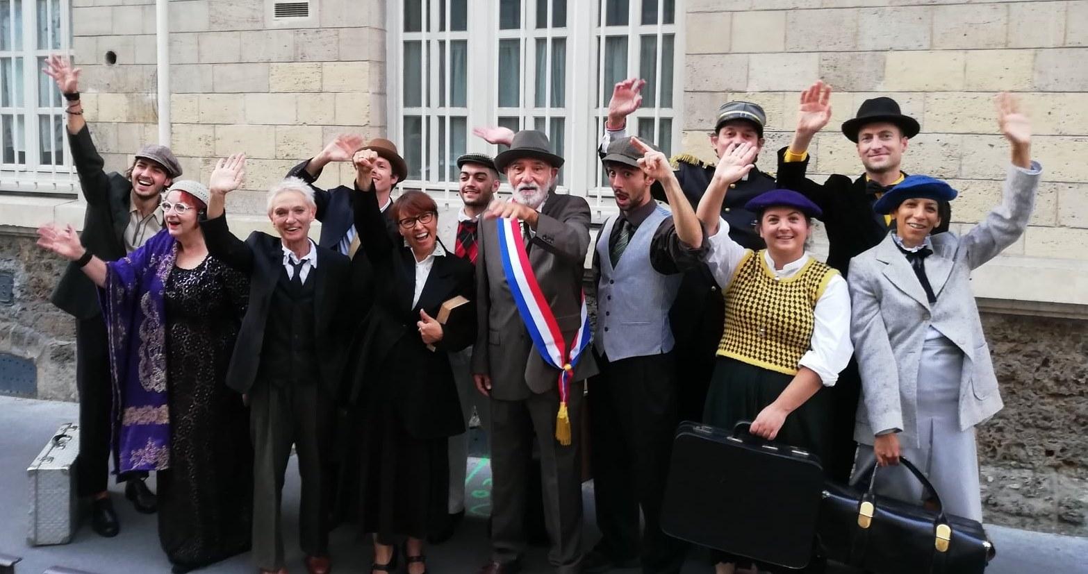 l'équipe de Boris Vian et les Pistons à Angoulême